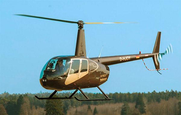Rundflug mit aero dynamics Hubschrauber, Nürnberg, Fränkische Schweiz